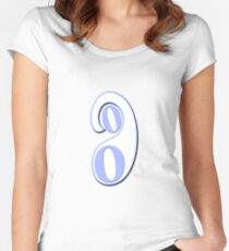 """""""Inclusion"""" typography Women's Fitted Scoop T-Shirt"""
