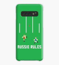 Aussie Rules Pixel Case/Skin for Samsung Galaxy