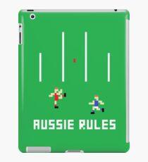 Aussie Rules Pixel iPad Case/Skin