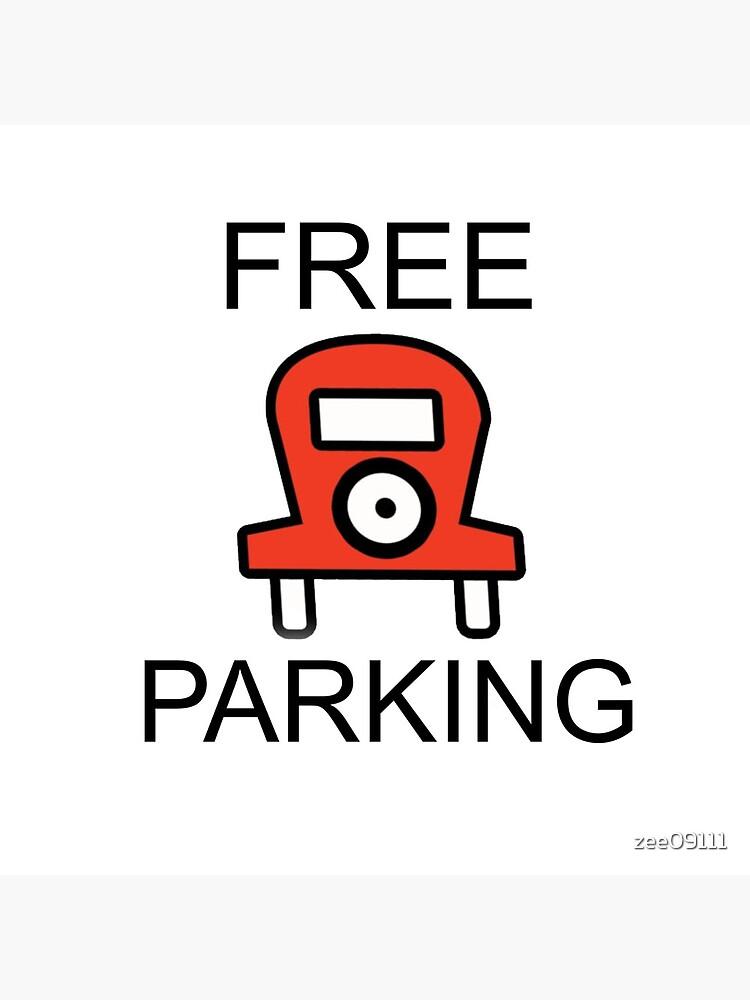 Free Parking Monopoly by zee09111