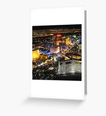LAS VEGAS 1 Greeting Card