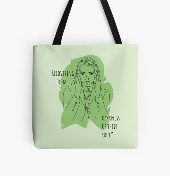 Recovering From Darkness Of Their Soul All Over Print Tote Bag