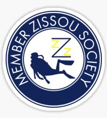 Member Zissou Society Sticker