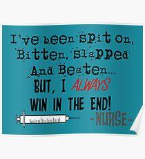 Hilarious Nurse Quote Poster