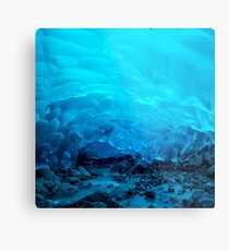 MENDENHALL ICE CAVES 3 Metal Print