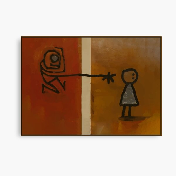 Ongo Gablogian the Art Collector masterpiece Canvas Print