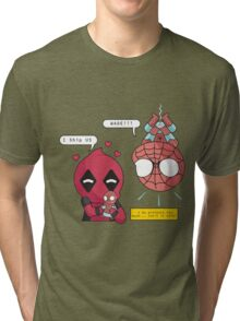 Superhero Ship Tri-blend T-Shirt