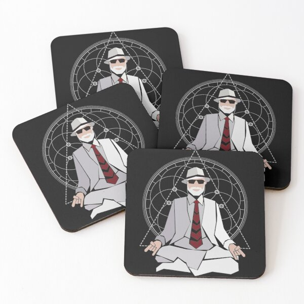 Exclusive Lon Milo Duquette Tshirt & Merch - Not available anywhere else! Coasters (Set of 4)