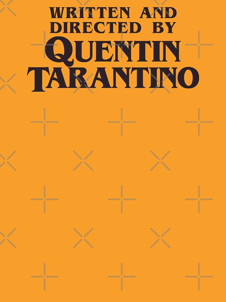 Geschrieben und Regie von Quentin Tarantino von drtees