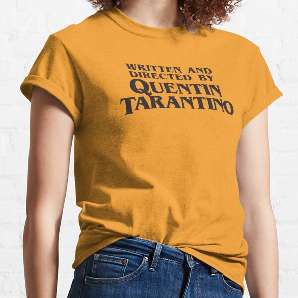 Written and Directed by Quentin Tarantino Camiseta clásica