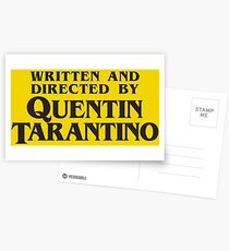 Written and Directed by Quentin Tarantino Postcards