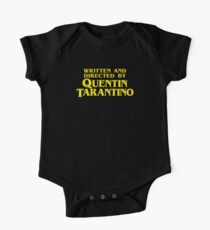 Written and Directed by Quentin Tarantino One Piece - Short Sleeve
