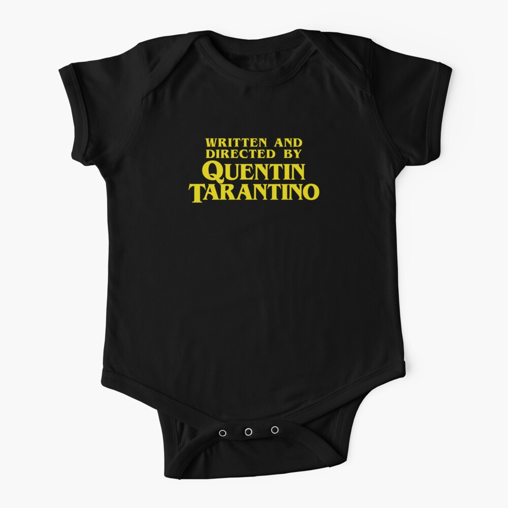Written and Directed by Quentin Tarantino Baby One-Piece