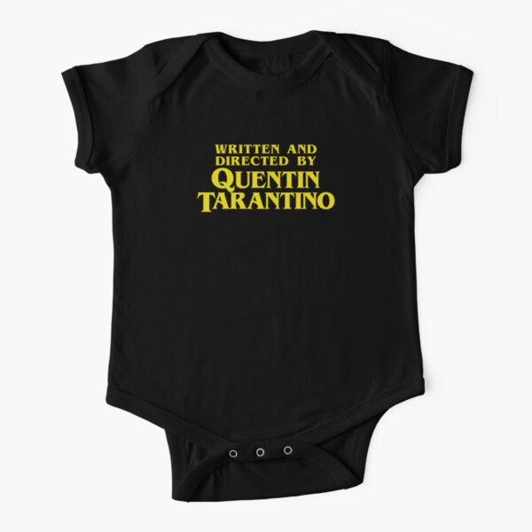 Written and Directed by Quentin Tarantino Short Sleeve Baby One-Piece