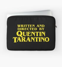Written and Directed by Quentin Tarantino Laptop Sleeve