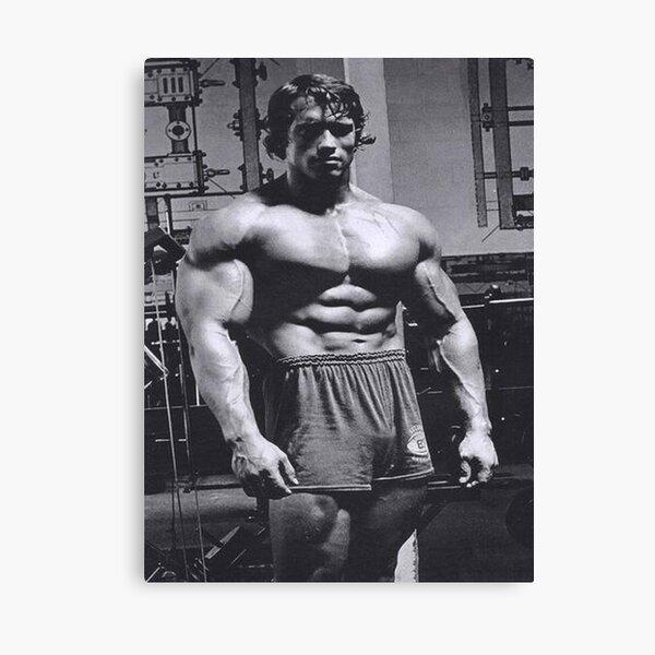 Arnold Schwarzenegger Bodybuilding Poster Canvas Print