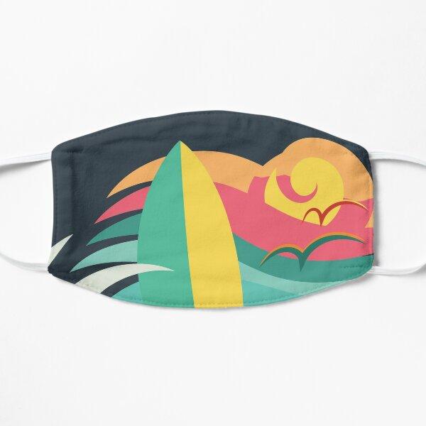 Venice beach California surf and skate paradise (light colors) Mask