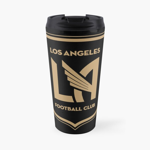 Los Angeles FC badge (black) Travel Mug