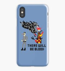 There Will Be Blood Pixel iPhone Case