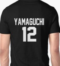 Haikyuu!! Jersey Yamaguchi Number 12 (Karasuno) T-Shirt