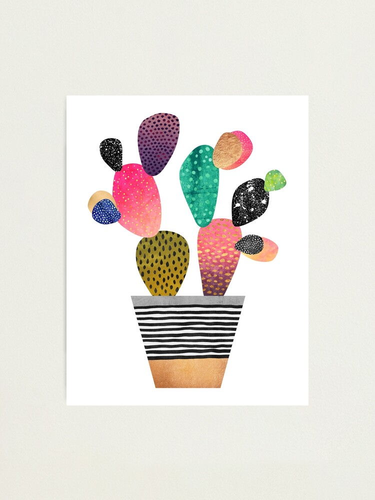 Alternate view of Happy Cactus Photographic Print