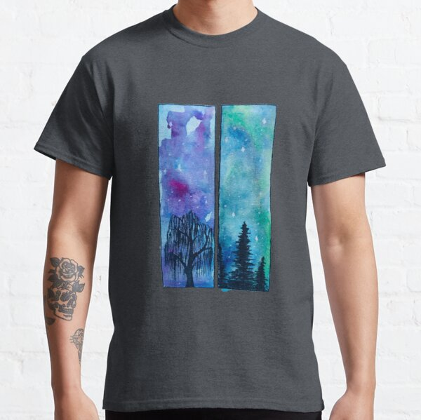 trees and sky Classic T-Shirt