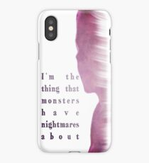 Buffy Summers - The Vampire Slayer iPhone Case