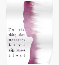 Buffy Summers - The Vampire Slayer Poster