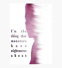 Buffy Summers - The Vampire Slayer Photographic Print