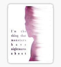 Buffy Summers - The Vampire Slayer Sticker