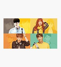 Cheese In The Trap Cast Photographic Print