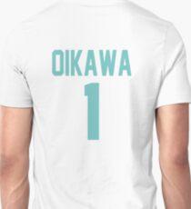 Haikyuu!! Oikawa Jersey Number 1 (Aoba) T-Shirt