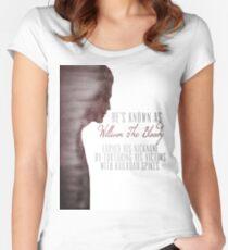 "William ""The Bloody"" Pratt - Spike - Women's Fitted Scoop T-Shirt"
