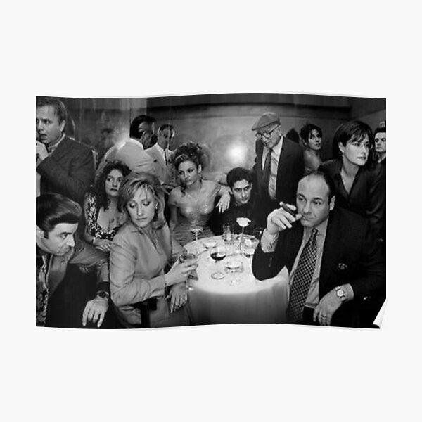 Encadré Les Sopranos Poster