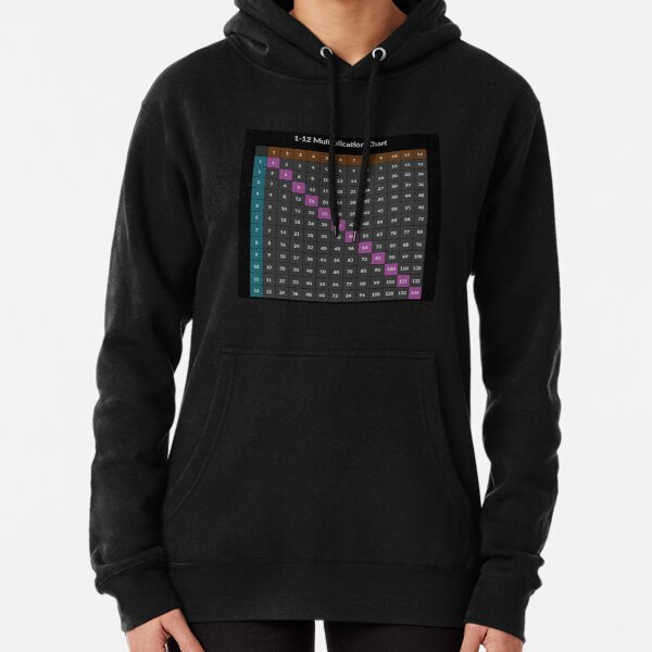 Multiplication table Pullover Hoodie