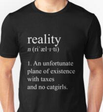 Camiseta unisex Adulto bien ajustado. (Modo oscuro)