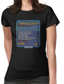 Borderlands Weapon Mod Womens Fitted T-Shirt