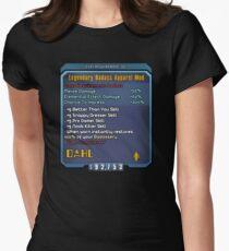 Borderlands Weapon Mod Women's Fitted T-Shirt