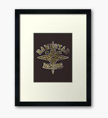 Dawnstar Miners - Skyrim - Football Jersey Framed Print