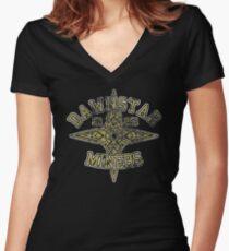 Dawnstar Miners - Skyrim - Football Jersey Women's Fitted V-Neck T-Shirt
