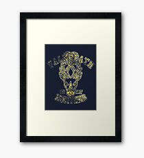 Falkreath Hunters - Skyrim - Football Jersey Framed Print