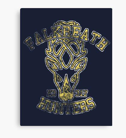 Falkreath Hunters - Skyrim - Football Jersey Canvas Print