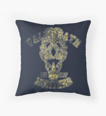 Falkreath Hunters - Skyrim - Football Jersey Throw Pillow