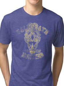 Falkreath Hunters - Skyrim - Football Jersey Tri-blend T-Shirt