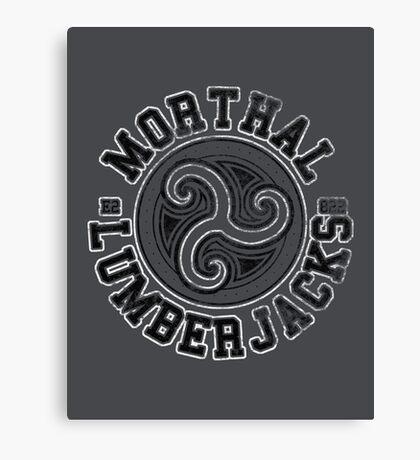Morthal Lumberjacks - Skyrim - Football Jersey Canvas Print