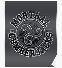 Morthal Lumberjacks - Skyrim - Football Jersey Poster