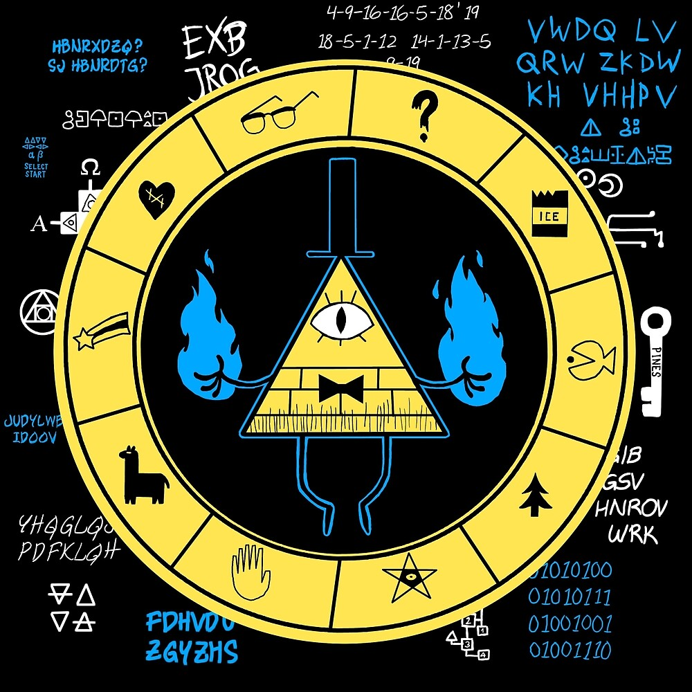 Quot Gravity Falls Bill Cipher Zodiac Quot By Themungoman