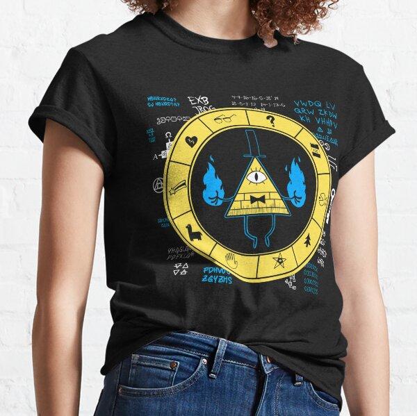 Gravity Falls - Bill Cipher Zodiac Classic T-Shirt