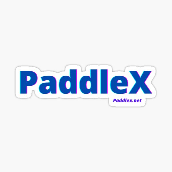 Paddlex Kayakers, Canoe, SUP, Raft.. We all are Paddlex Sticker