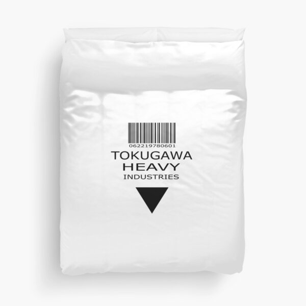MGS - Tokugawa Heavy Industries Duvet Cover